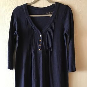 Lilly Pulitzer, Navy Blue dress! *Only worn once*